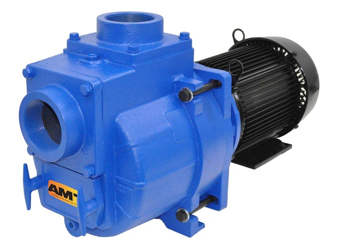 New AMT 394G-95 & 394H-95 Self Priming Sewage Trash Pumps