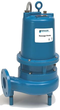 Goulds Pumps 3SD52F3EA 3SD Dual Seal Sensor Probe Submersible Non-Clog Sewage Pump