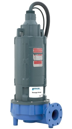 Goulds 4NS12K4MC 4NS Non Clog Sewage Pump