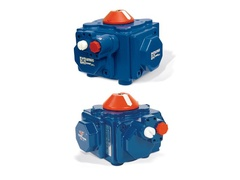 "Hayward PCD25, PCD25 Model Actuator, Air-to-Air, Rack and Pinion Design fits 4"" Butterfly Valves, Heavy Duty, Man. Override"