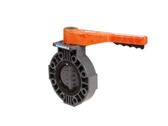 "Hayward BY110800NG, 8"" Butterfly Valve w/PVC Body; PVC Disc; NITRILE liner & seals; gear operator"