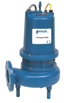Goulds Pumps 4SD52G5CA 4SD Non-Clog Submersible Dual Seal w/ Sensor Probe Sewage Pump