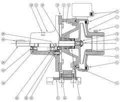Burks Series GNA5-1-1/4 & GNA6-1-1/4 Parts