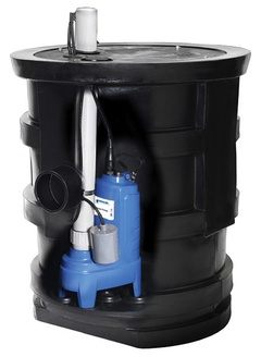 Goulds GWP1241 Wastewater System Pump Basin