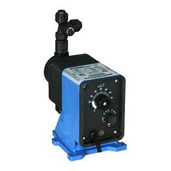 Pulsatron Pumps Model LB02SB-PVC1-XXX Chemical Metering Pump Side View