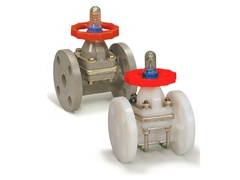 "Hayward DAB6010FPK, 1"" PVDF/PP Diaphragm Valve w/PTFE Diaphragm; flanged end connections"