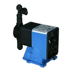 Pulsatron Pumps Model LE34SA-PVC1-XXX Chemical Metering Pump Side View
