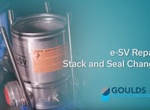 Goulds e-SV Stack Assembly / Seal Change Repair Video