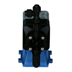 Pulsatron Pumps Model LMG5TB-PVC3-XXX Chemical Metering Pump Back View