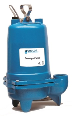 Goulds WS0712BJ WS 3886 Submersible Sewage Pump