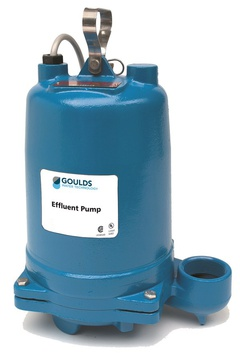 Goulds WE0712HU WE 3885 Submersible Effluent Pump