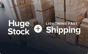 Huge Stock + Lightning Fast Shipping