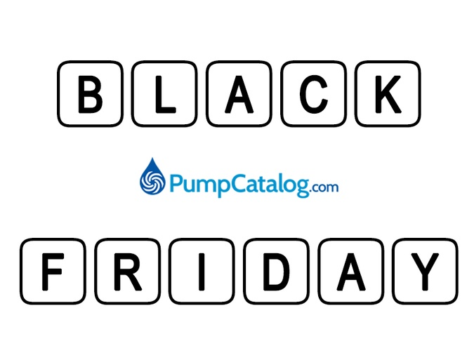 Get Pumped! Black Friday Is Coming To PumpCatalog.com