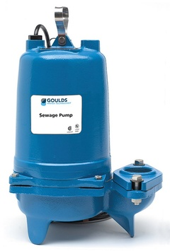 Goulds WS2038BHF WS BHF 3887 Submersible Sewage Pump