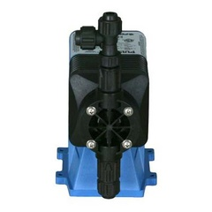 Pulsatron Pumps Model LS13S4-VTC1-XXX Chemical Metering Pump Back View