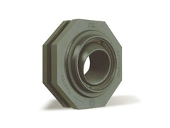 "Hayward SF10100T, 1"" PVC Self-Aligning Bulkhead Fitting w/EPDM gaskets; threaded end connections"