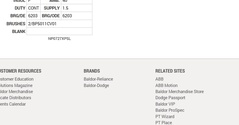 CDPX3440 Baldor DC Motors Nameplate