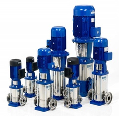 Goulds Pumps 15SV5GJ4F20 e-SV SS Vertical Multi-Stage Pump
