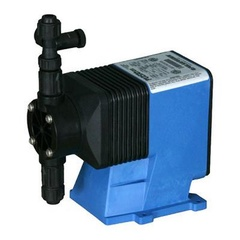 Pulsatron Pumps Model LD04S2-PVC1-365 Chemical Metering Pump Back View