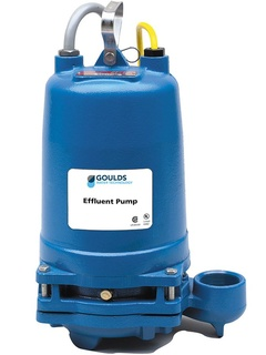 Goulds Pumps 2ED51D3CA 2ED Submersible Effluent Pump