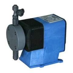 Pulsatron Pumps Model LPD4MB-VTTA-XXX Chemical Metering Pump Back View