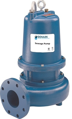 Goulds WS3038D4U WS D4 3888 Submersible Sewage Pump